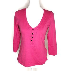 BETSEY JOHNSON | Button Up Blouse Top